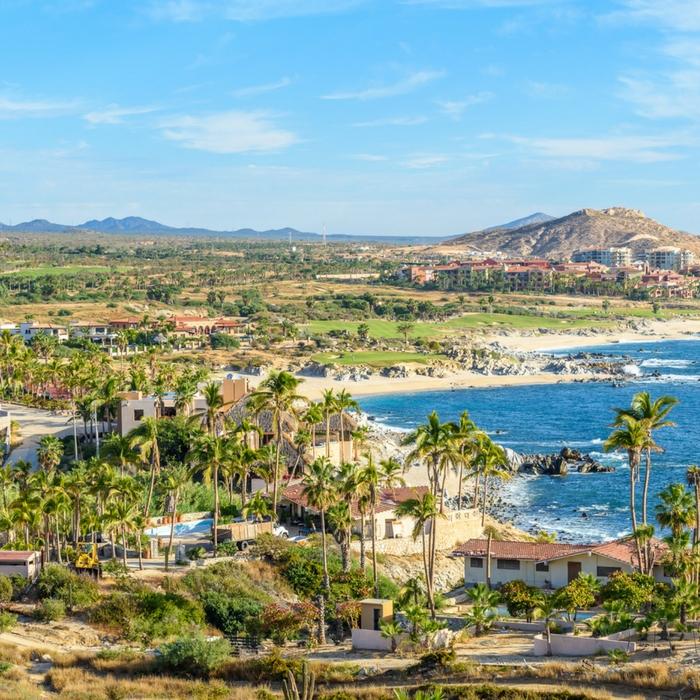 Foto costera de Los Cabos