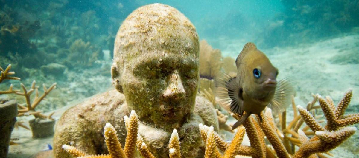 museo subacuático de Cancun