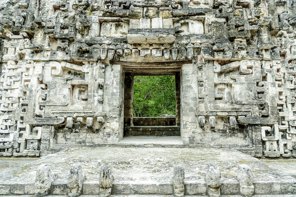 Tallados mayas